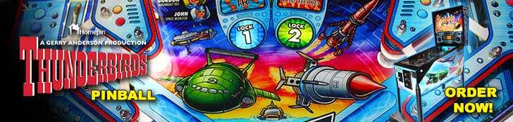 Thunderbirds pinball Order Now