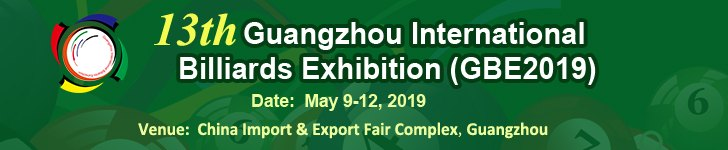 Guangzhou International Billiards Exhibition (GBE2019)