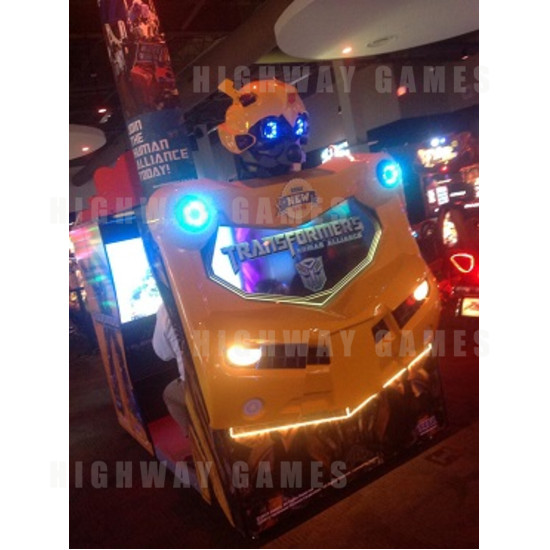 Transformers Human Alliance Allies with Dave & Buster's in Orlando - Transformers DLX @ D&B - Sega Twitter