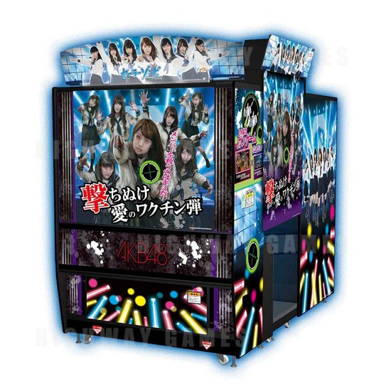 Bandai Namco Releases Sailor Zombie ~AKB48 Arcade Edition~ - Cabinet