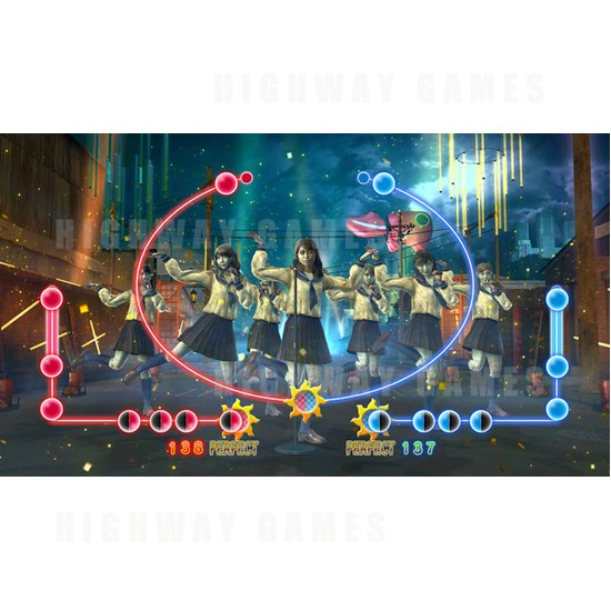 Bandai Namco Releases Sailor Zombie ~AKB48 Arcade Edition~ - Screenshot 1