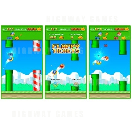 Adrenaline Amusements Now Shipping Flappy Ticket - Screenshots