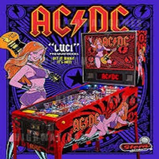 Stern Announces AC/DC Premium LUCI Pinball Model Now Available! - Brochure - 1