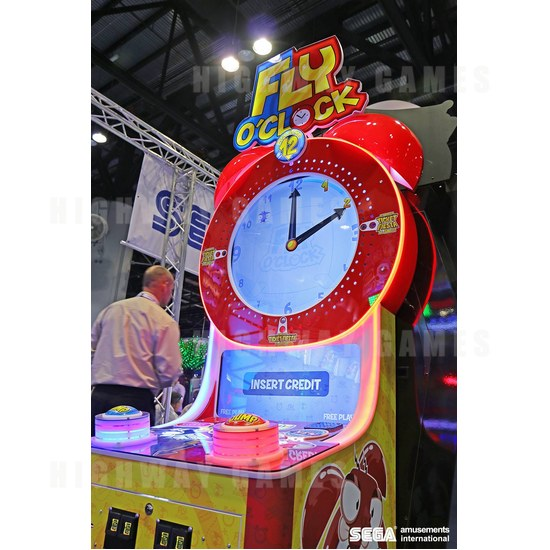 Sega to show 13 new games at EAG 2017 - Fly O'Clock at 2016 IAAPA