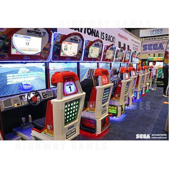 Sega to show 13 new games at EAG 2017 - Daytona 3 at 2016 IAAPA