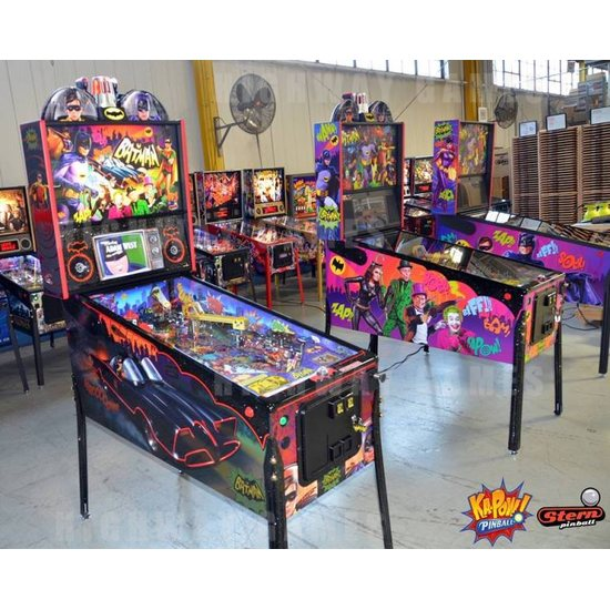 Dead Flip to show live game play of Batman 66 by Stern Pinball - Batman 66. Photo: Stern Pinball/Facebook - 1