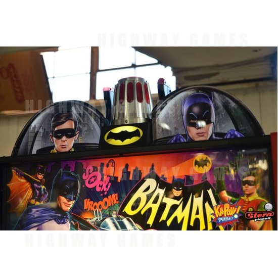 Dead Flip to show live game play of Batman 66 by Stern Pinball - Batman 66. Photo: Stern Pinball/Facebook - 5