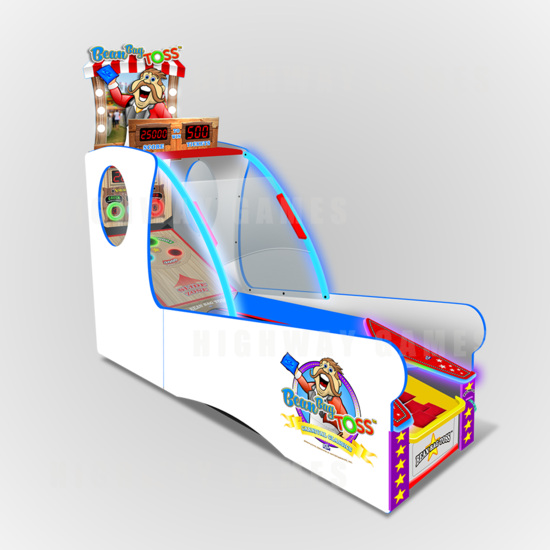Sega to introduce ICE games at EAG 2017 - The Bean Bag Toss cabinet