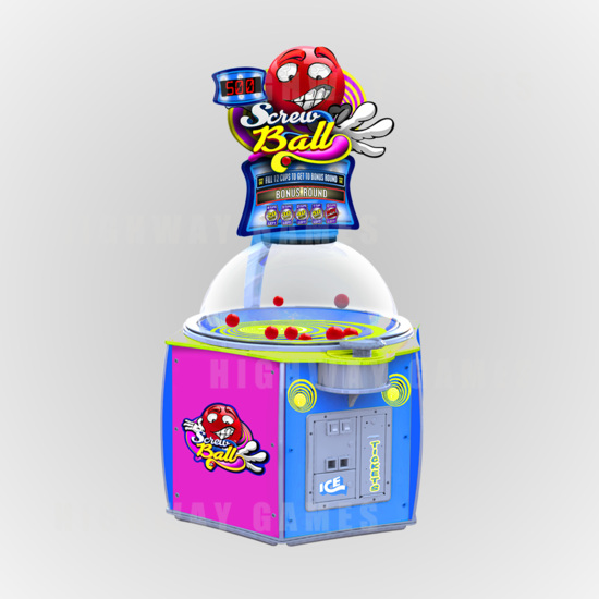 Sega to introduce ICE games at EAG 2017 - Screwball cabinet