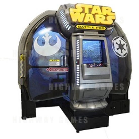 Bandai Namco Unveiled New Star Wars Arcade Machine - Cabinet Outside