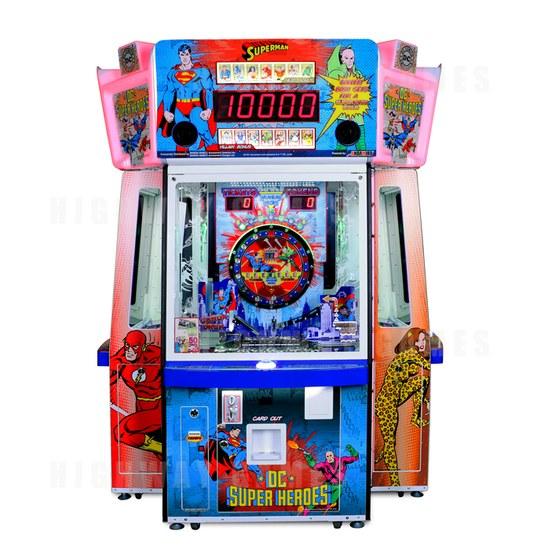 Bandai Namco unveils DC Superheroes arcade game - Superman design