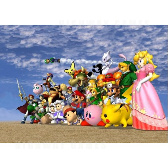 Red Bull turned Super Smash Bros. Melee into an arcade game - The Super Smash Bros. Melee characters