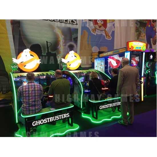 ICE championing its success at EAG 2017 - Ghostbusters by ICE at EAG 2017. Photo: Michael Tobin