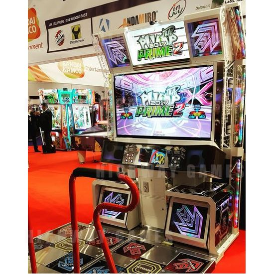New arcade and pinball games debut at EAG 2017 - Pump it up Prime 2 at EAG. Picture: Twitter/@7Ten