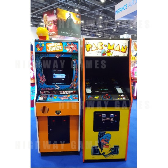 New arcade and pinball games debut at EAG 2017 - Pac-Man machines at EAG. Picture: Twitter/@7Ten