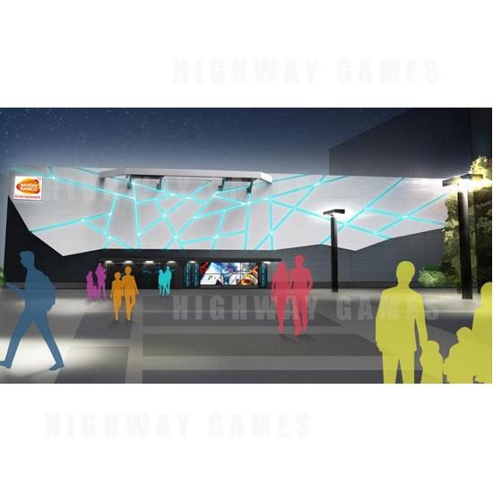 Bandai Namco to open Japan's largest virtual reality centre - Artist impression of VR Zone Shinjuku