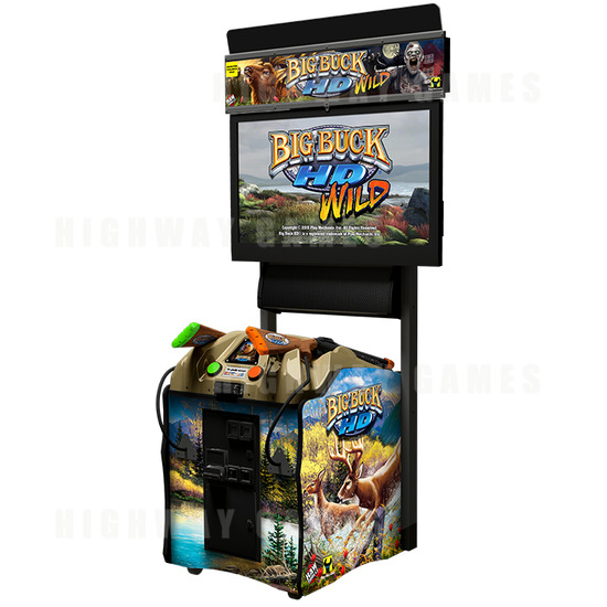 New Big Buck HD content released in time for Twitch mini-doco - The Big Buck HD arcade machine
