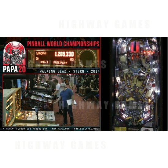 Escher Lefkoff, 13, wins pinball world championship - Screenshot of the PAPA 20 livestream