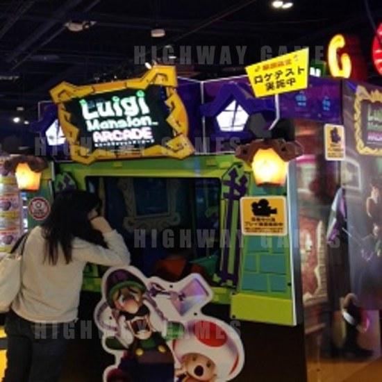 Capcom Annouced New Arcade Machines - Luigi's Mansion and Monster Hunter - Luigi's Mansion Arcade Machine