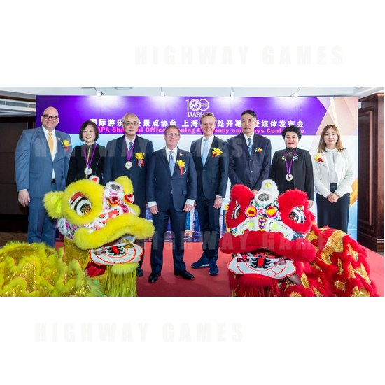 IAAPA Opens Regional Office in Shanghai, China - IAAPA Shanghai Office Opening - 3