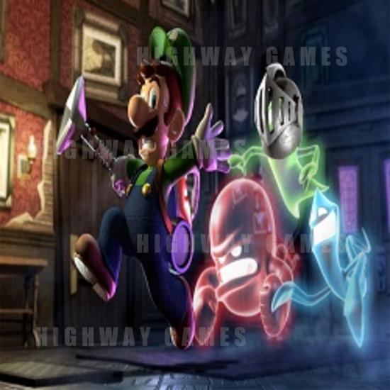 Capcom Annouced New Arcade Machines - Luigi's Mansion and Monster Hunter - Luigi's Mansion - Image via Polygon
