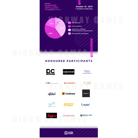 Who Will Attend Georgia iGaming Affiliate Conference? - Georgia iGaming Affiliate Conference Infographics