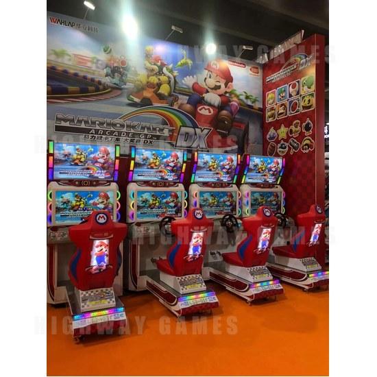 Asia Amusement & Attractions Expo 2020 Pushes on Despite Setbacks - Mario Kart Arcade GP DX at AAA2020