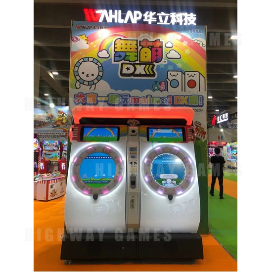 Asia Amusement & Attractions Expo 2020 Pushes on Despite Setbacks - MaiMai DX at AAA2020