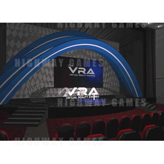 Virtual Reality Awards 2014 Winners - Virtual Awards Stage - Virtual Reality Awards 2014