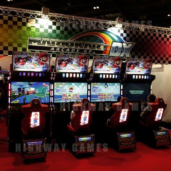 EAG International 2015 Wrap Up - Mario Kat Arcade GP DX - Bandai Namco - EAG International 2015