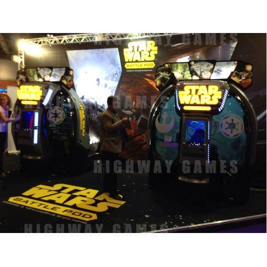 EAG International 2015 Wrap Up - Star Wars Battle Pod - Bandai Namco - EAG International 2015