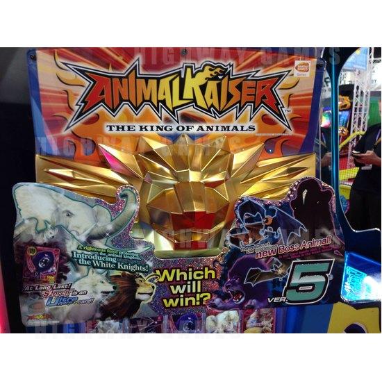 EAG International 2015 Wrap Up - Animal Kaiser Arcade Machine - Bandai Namco - EAG International 2015 - 2