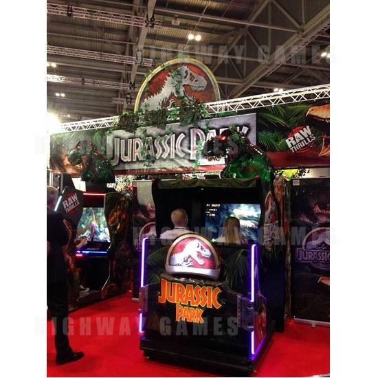 EAG International 2015 Wrap Up - Jurassic Park - RawThrills - EAG International 2015