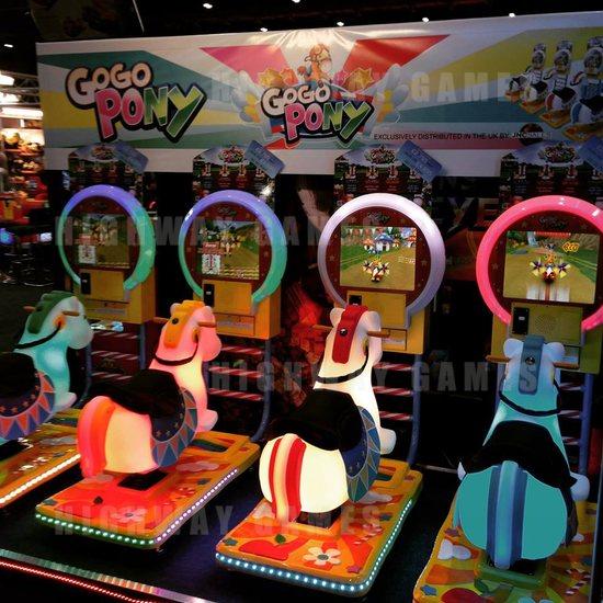 EAG International 2015 Wrap Up - Go Go Pony Arcade Kiddy Ride - IGS/Barron Games - EAG International 2015