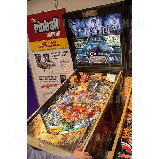 EAG International 2015 Wrap Up - The Hobbit Pinball Machine - Jersey Jack Pinball - EAG International 2015