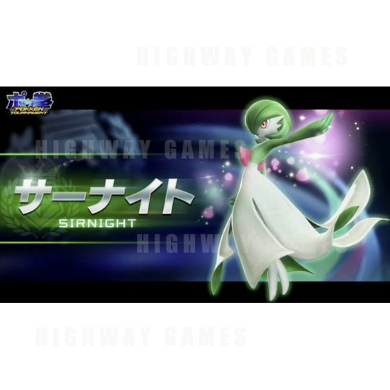 Pokken Tournament Fighter and Cabinet Details from Niconico Livestream - Pokken Tournament Gardevoir - Bandai Namco Games