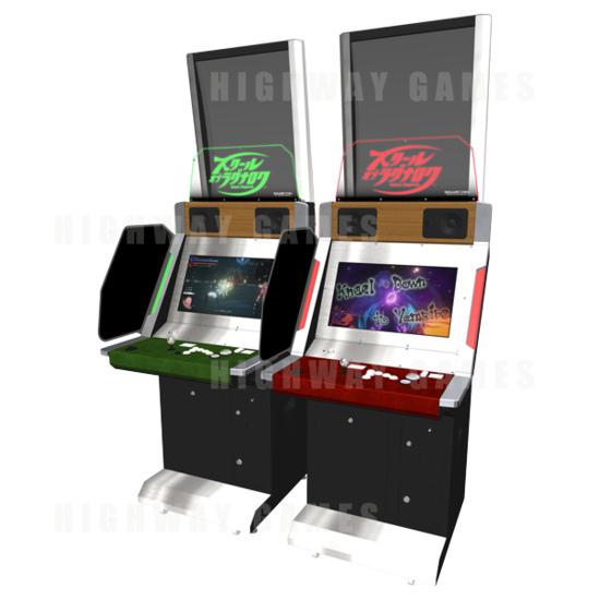 Square Enix Announces New Arcade Title - School of Ragnarok - School of Ragnarok Arcade Machine by Square Enix
