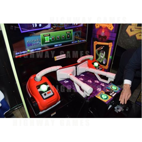 JAEPO 2015 Show Wrap Up - Luigi Mansion Arcade Controllers at Sega booth - JAEPO 2015 Show - 2