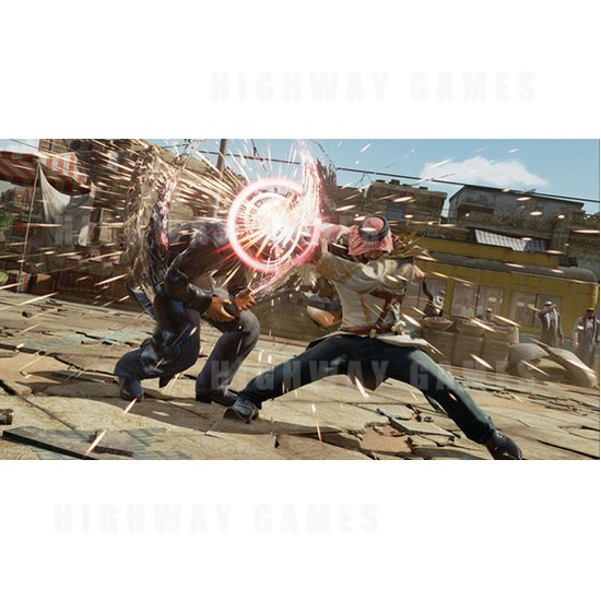 JAEPO 2015 Show Wrap Up - Tekken 7 Shaheen Screenshot at Bandai Namco Booth - JAEPO 2015 Show