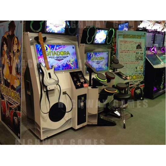 JAEPO 2015 Show Wrap Up - GITADORA Tri-Boost at Konami booth - JAEPO 2015 Show
