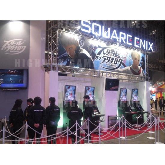 JAEPO 2015 Show Wrap Up - School of Ragnarok at Square Enix booth - JAEPO 2015 Show