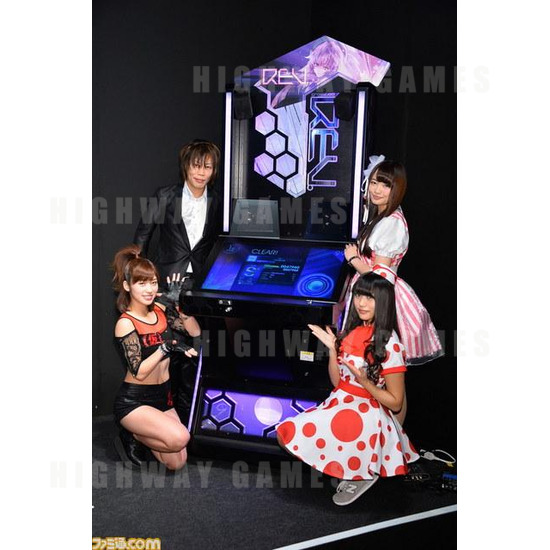 JAEPO 2015 Show Wrap Up - Crossbeats REV. at Capcom booth - JAEPO 2015 Show - 2