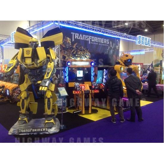 Updates from EAG International 2014 - Bumblebee courtesy of Sega Amusements-Facebook