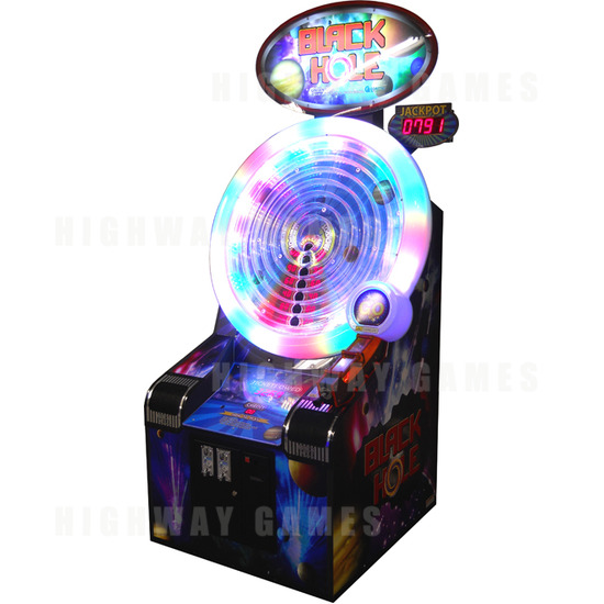 Dave & Buster's Add Coastal Amusements Machines To Summer of Games Package - Black Hole Ticket Redemption Arcade Machine