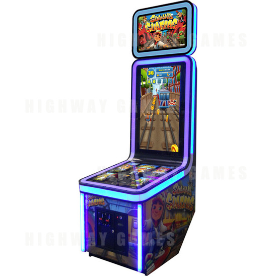 Dave & Buster's Add Coastal Amusements Machines To Summer of Games Package - Subway Surfers Arcade Machine