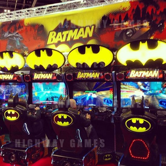 Updates from EAG International 2014 - Batman by Raw Thrills and Namco