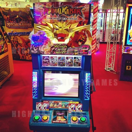 Updates from EAG International 2014 - Animal Kaiser 2 by Namco