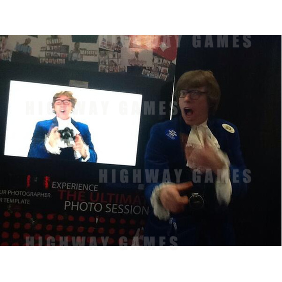 Updates from EAG International 2014 - Photobooth feat. Austin Powers