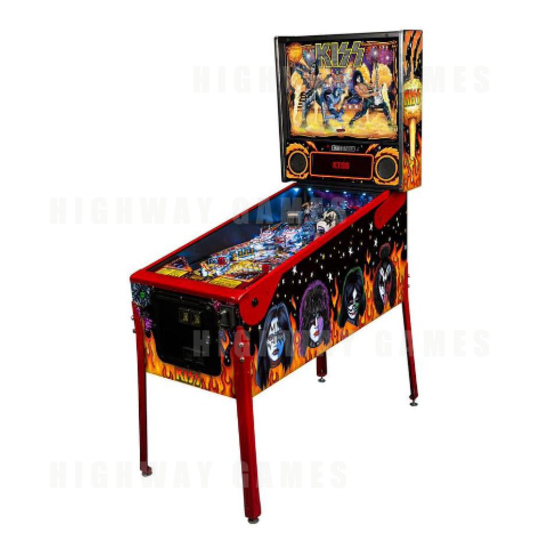 Stern Pinball and Epic Rights Release KISS Pinball Machine - KISS Pinball Machine by Stern and Epic Rights - 1
