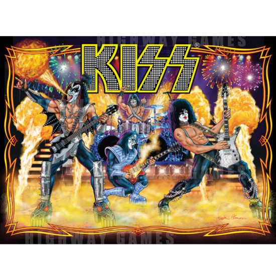 Stern Pinball and Epic Rights Release KISS Pinball Machine - KISS Pinball Machine by Stern and Epic Rights - 2